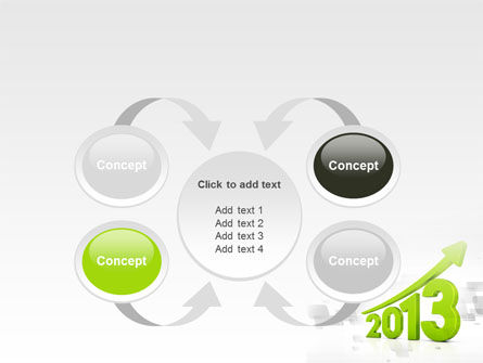 2013 Growth PowerPoint Template Slide 6