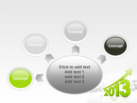 2013 Growth PowerPoint Template Slide 7