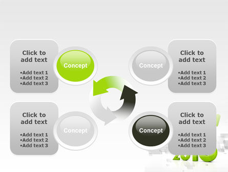 2013 Growth PowerPoint Template Slide 9