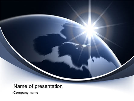 Global: A New Day PowerPoint Template #10484