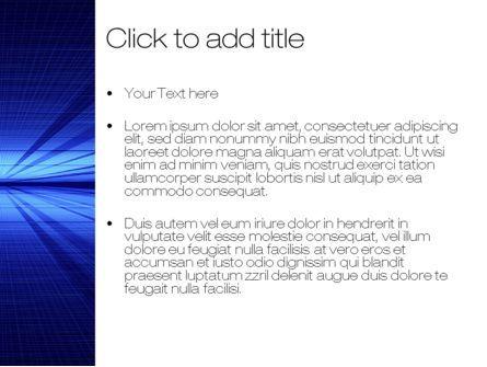 Digital Perspective PowerPoint Template, Slide 3, 10485, Abstract/Textures — PoweredTemplate.com