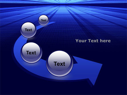 Digital Perspective PowerPoint Template Slide 6