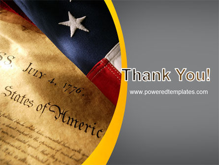 USA Declaration of Independence PowerPoint Template Slide 20