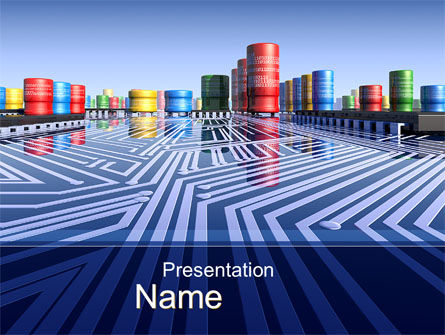 Inside Computer Chip PowerPoint Template