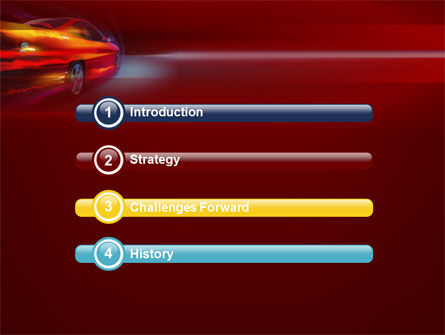 Fast and Furious PowerPoint Template, Slide 3, 10492, Cars and Transportation — PoweredTemplate.com