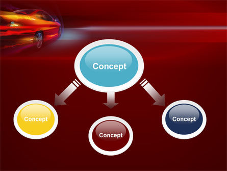 Fast and Furious PowerPoint Template, Slide 4, 10492, Cars and Transportation — PoweredTemplate.com