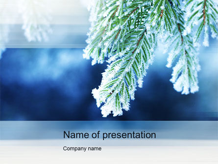 Nature & Environment: Winter PowerPoint Template #10493