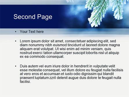 Winter PowerPoint Template, Slide 2, 10493, Nature & Environment — PoweredTemplate.com