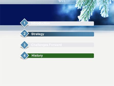 Winter PowerPoint Template, Slide 3, 10493, Nature & Environment — PoweredTemplate.com