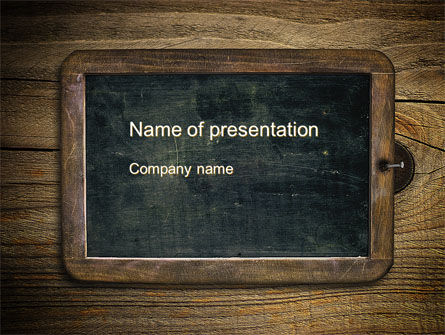 chalkboard powerpoint template backgrounds 10495