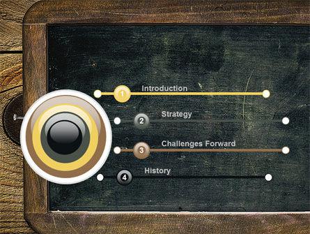 Chalkboard PowerPoint Template, Slide 3, 10495, General — PoweredTemplate.com