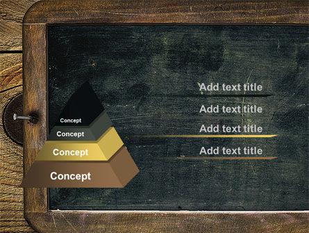 Chalkboard PowerPoint Template, Slide 4, 10495, General — PoweredTemplate.com