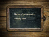 General: Schoolbord PowerPoint Template #10495