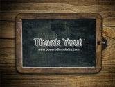 Chalkboard PowerPoint Template#20