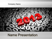 2013 and Other Years PowerPoint Template#1