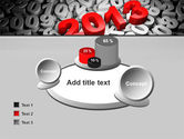 2013 and Other Years PowerPoint Template#16