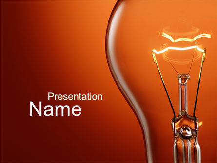 Incandescent PowerPoint Template