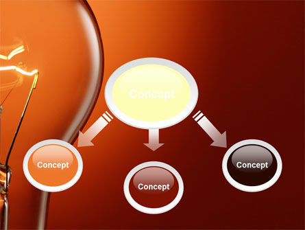 Incandescent PowerPoint Template, Slide 4, 10498, Careers/Industry — PoweredTemplate.com