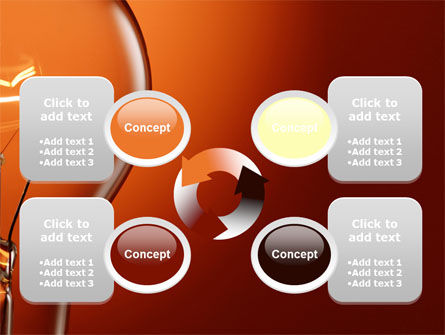 Incandescent PowerPoint Template Slide 9
