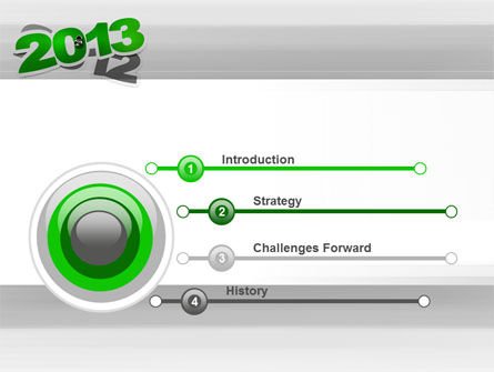 Year Change PowerPoint Template, Slide 3, 10500, Holiday/Special Occasion — PoweredTemplate.com