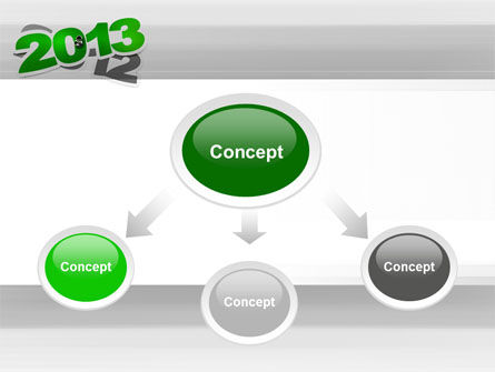 Year Change PowerPoint Template, Slide 4, 10500, Holiday/Special Occasion — PoweredTemplate.com