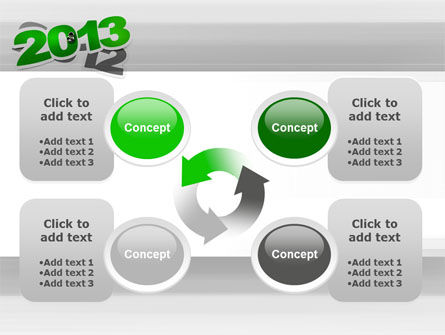 Year Change PowerPoint Template Slide 9