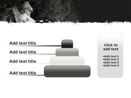 Angel Tombstone PowerPoint Template Slide 8