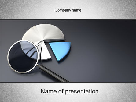 Consulting: Data-analyse PowerPoint Template #10504