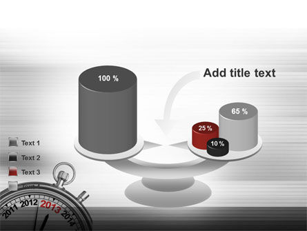 2013 Stopwatch PowerPoint Template Slide 10