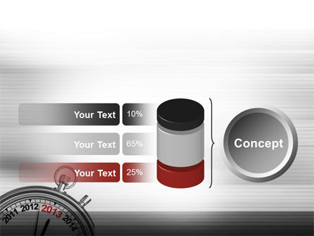 2013 Stopwatch PowerPoint Template Slide 11