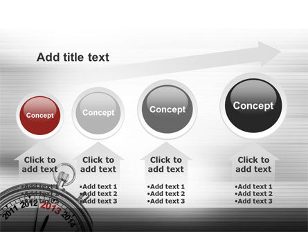 2013 Stopwatch PowerPoint Template Slide 13