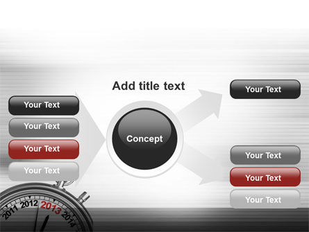 2013 Stopwatch PowerPoint Template Slide 14