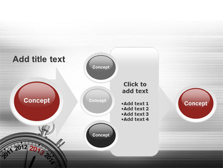2013 Stopwatch PowerPoint Template Slide 17