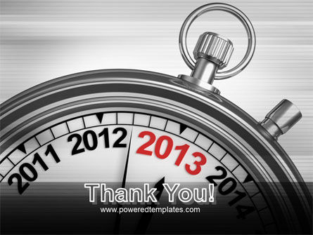 2013 Stopwatch PowerPoint Template Slide 20