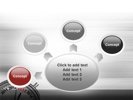 2013 Stopwatch PowerPoint Template Slide 7