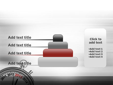 2013 Stopwatch PowerPoint Template Slide 8