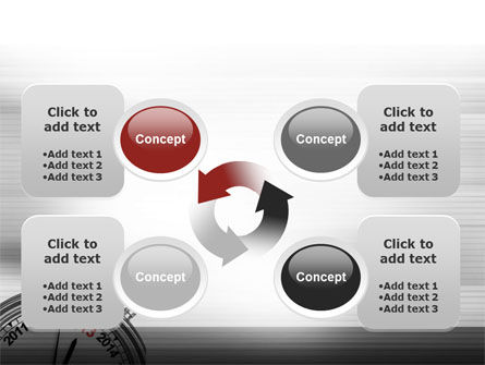 2013 Stopwatch PowerPoint Template Slide 9
