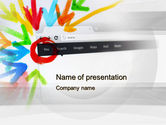 Technology and Science: Be Social PowerPoint Template #10507