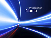 Abstract/Textures: Moving into Infinity PowerPoint Template #10508