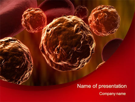 Medical: Inside the Circulatory System PowerPoint Template #10509