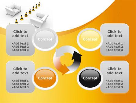 Barrier in Understanding PowerPoint Template Slide 9