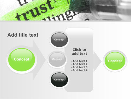 The Word Trust PowerPoint Template Slide 17