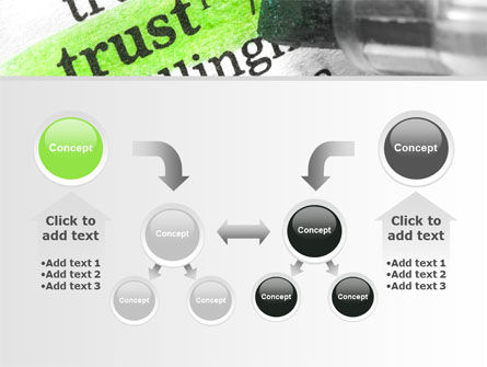 The Word Trust PowerPoint Template Slide 19