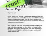 The Word Trust PowerPoint Template#2