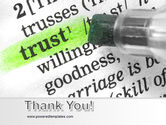 The Word Trust PowerPoint Template#20