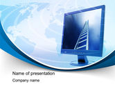 Careers/Industry: IT Career PowerPoint Template #10514