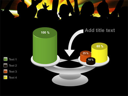 Concert Crowd PowerPoint Template Slide 10