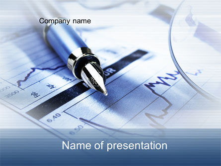Financial/Accounting: Reports and Analysis PowerPoint Template #10516