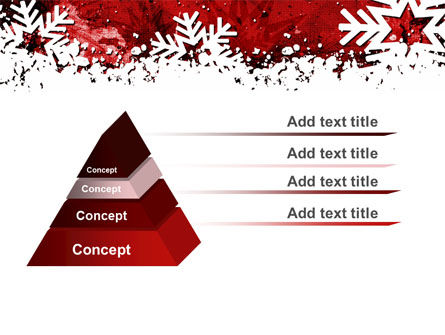Snowflakes Frame PowerPoint Template Slide 12