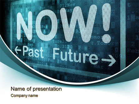 Focusing on Now PowerPoint Template